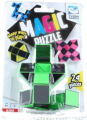 Clown Games Clown Magic Puzzle 3d 24 Dlg Groen
