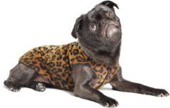 GoldPaw Series Goldpaw - Stretch Fleece hondenjas - Pullover Luipaard - maat 24 - grote maten