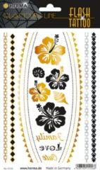 HERMA 15156 FLASH tattoo flower