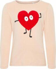 Roze Name it Meisjes T-shirt - Rose Cloud - Maat 92
