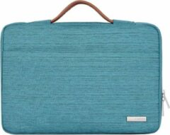 Somstyle Laptophoes 13 Inch Handvat – Macbook Pro 13 Inch case 2009-2012 – Macbook Air 2008-2017 Case – Laptop Sleeve – Turquoise