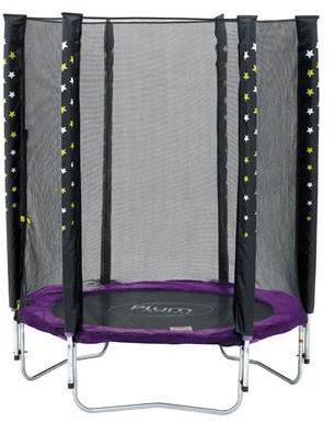 Afbeelding van Paarse Plum Stardust Paars 140 cm inclusief Veiligheidsnet - Trampoline