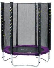 Paarse Plum Stardust Paars 140 cm inclusief Veiligheidsnet - Trampoline