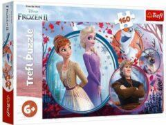 Trefl - Puzzel Frozen 2 - Puzzel voor kinderen - 160 stukjes - 6 jaar en ouder
