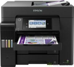 Zwarte Epson EcoTank ET-5850 Inkjet 4800 x 2400 DPI 32 ppm A4 Wi-Fi