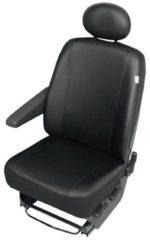 Merkloos / Sans marque Bestelwagen stoelbekledinghoes 2-delig kunstleer met hoofdsteun cover
