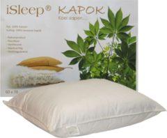 ISleep Kapok Hoofdkussen - 100% Kapok (1100 gram) - 60x70 cm