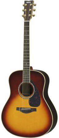 Afbeelding van Yamaha LL6 ARE Brown Sunburst elektr.-akoestische westerngitaar