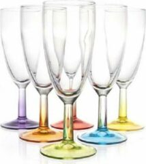 Luminarc Crazy Colors - Waterglazen - 30cl - Paars - (Set van 6) En Yourkitchen E-kookboek - Heerlijke Smulrecepten