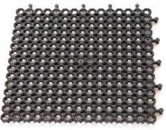 Plum Veiligheidsmat Protektamat Zwart 50x50cm (Per 2)