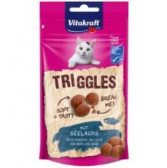 Vitakraft Triggles 40 g - Kattensnack - Koolvis