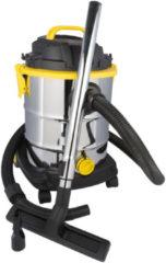 Roestvrijstalen Kinzo - Nat en droog stofzuiger - RVS - 1200 Watt - 25 Liter