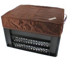 Bruine Hooodie Box M Bruin voor Kerri Fietskrat