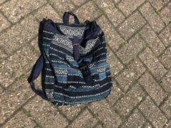 Adventure Bags Rugtas design donkerblauw