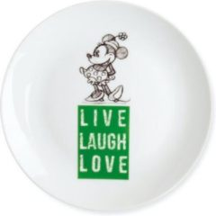 Groene Disney Egan Gebaksbordje Minnie Mouse Live Laugh Love 19cm