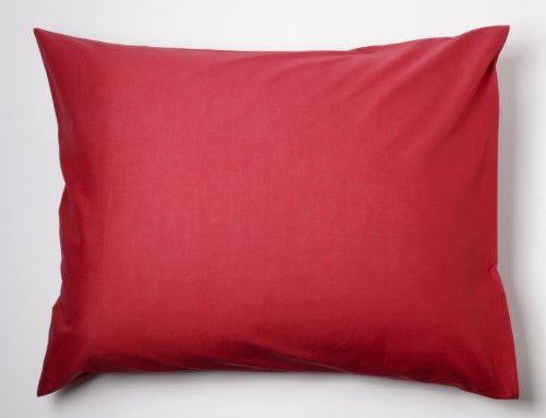 Afbeelding van Day Dream slopen - strijkvrij - katoen - set van 2 - 60 x 70 - Rood
