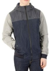 Scotch Soda Windjacken Herren Kurze Kapuzenjacke, Blau