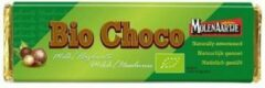 Molenaartje Bio Chocoladereep Melk Hazelnoot Zonder Suiker