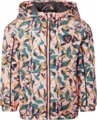 Noppies zomerjas Lakson met contrastbies en patches roze/groen
