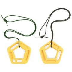 Wataaah - Ronin Double - Klimtraining - Trainingsgrepen oranje/wit/grijs