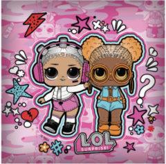 L.O.L. Surprise! L.o.l. Surprise Kussen Meisjes 40 X 40 Cm Polyester Roze