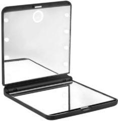 Beter MIRROR OHH! licht aanraken dubbele vouwen met led-licht #zwart Spiegel