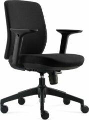BenS 917-Eco-1 zwart Ergonomische bureaustoel met in hoogte verstelbare armleggers