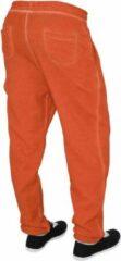Urban Classics Dames jogging broek -S- Spray Dye Oranje