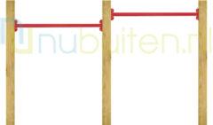 Westwood NuBuiten | Dubbel Duikelrek 90 | Rood