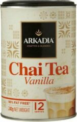 Arkadia Chai Latte Vanille Tea 240gr. Powder Cafe Beverage