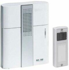 Witte Wireless door bell Complete set Grothe 43305 Mistral 200M