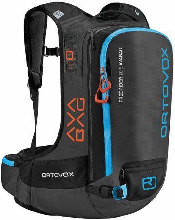 Afbeelding van Ortovox - Free Rider 20 S Avabag Kit - Lawinerugzak maat 36 - 44 cm, zwart
