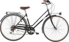 28 Zoll Damen City Fahrrad 6 Gang Alpina... schwarz