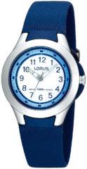 Lorus R2307FX9 Horloge - Kunststof - Blauw - Ø 29.5 mm
