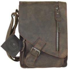 Green Burry Greenburry Vintage 1949 Revival Crossover Bag Charcoal Umhängetasche