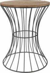 Home&Styling Home&Styling Bijzettafel metaal beige