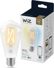 WiZ Connected Edison E27 Transparant 60W Koel tot Warmwit Licht