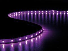 Witte Velleman Flexibele Led Strip - Roze - 300 Leds - 5 M - 24 V