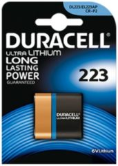 Duracell Ultra 223 - Kamerabatterie CR-P2 Li 1400 mAh 223103