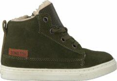 Ton & Ton Jongens Hoge sneakers Pl20w017 - Groen - Maat 23