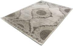 Merinos/karpet24.nl Vloerkleed - Klassiek Desing - Gestreept - Grijs-120 x 170 cm