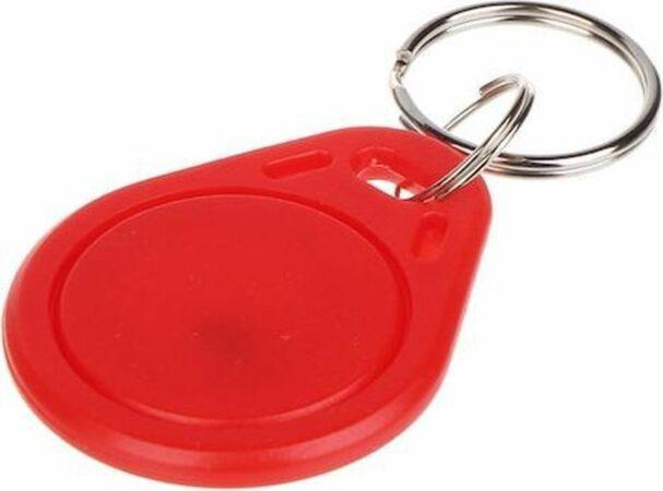 Afbeelding van WL4 RFID tags rood met key ring (10 stuks)