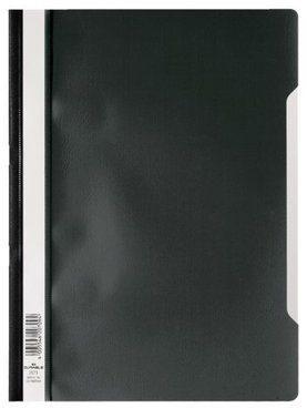 Afbeelding van DURABLE Snelhechter 257301 A4 Zwart PP Met beschrijfbare label over de gehele lengte. 50