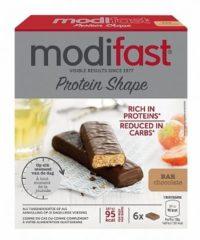 Modifast Protiplus Reep chocolade 162gr (1 Pak van 162 gr)