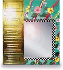 Tom's Company Kleurrijk, grappig en vrolijk, in alle kleuren van de regenboog: Spiegel Tahiti (groen)