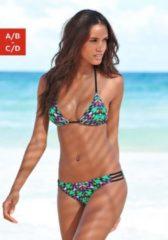 Bruno Banani Triangel-Bikini im angesagten Feder-Print