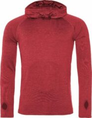 AWDis Gewoon Cool Mens Cowl Neck Long Sleeve Baselayer Top (Rood gemêleerd)
