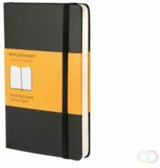 Moleskine notitieboek, ft 9 x 14 cm, gelijnd, harde cover, 192 bladzijden, zwart