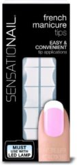 Zwarte SensatioNail French Manicure Tips - 100 stuks