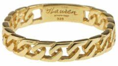 Lauren Sterk Amsterdam - ring - chain - medium - verguld goud - coating